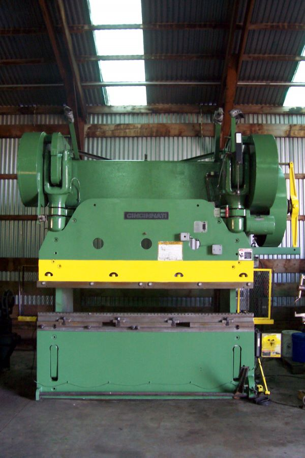 225 Ton Mechanical Press Brake Cincinnati Model No 9