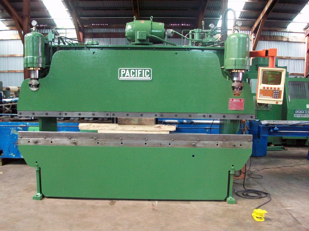70 Ton Hydraulic Cnc Press Brake Pacific Model 70 10 8