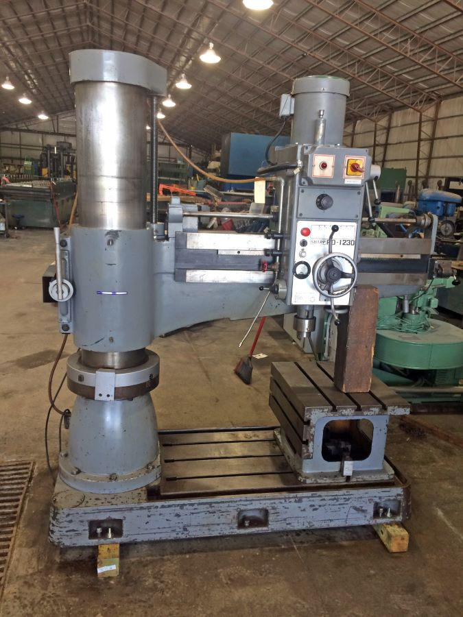 4 X 12 Quot Radial Arm Drill Sharp Model Rd 1230