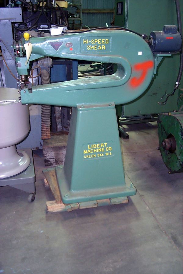 30 Quot Circle Shear Libert Model 1430