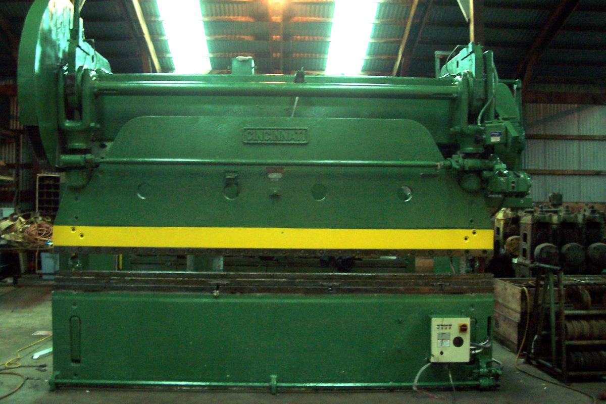 150 Ton Mechanical Press Brake Cincinnati Model 90x10