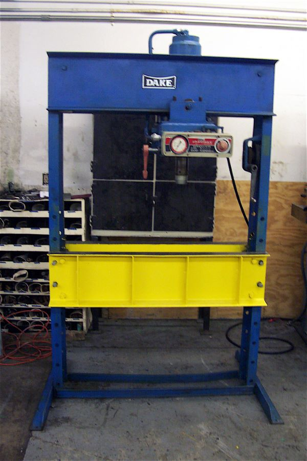 75 Ton H Frame Hydraulic Press Dake