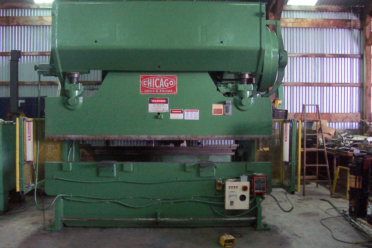 150 Ton Mechanical Press Brake Chicago Dreis Amp Krump