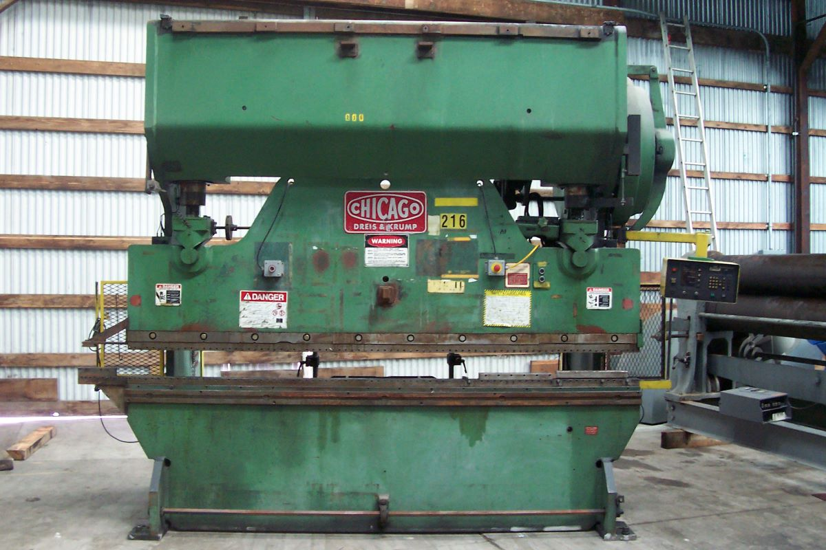 150 Ton Mechanical Press Brake Chicago Dries Amp Krump