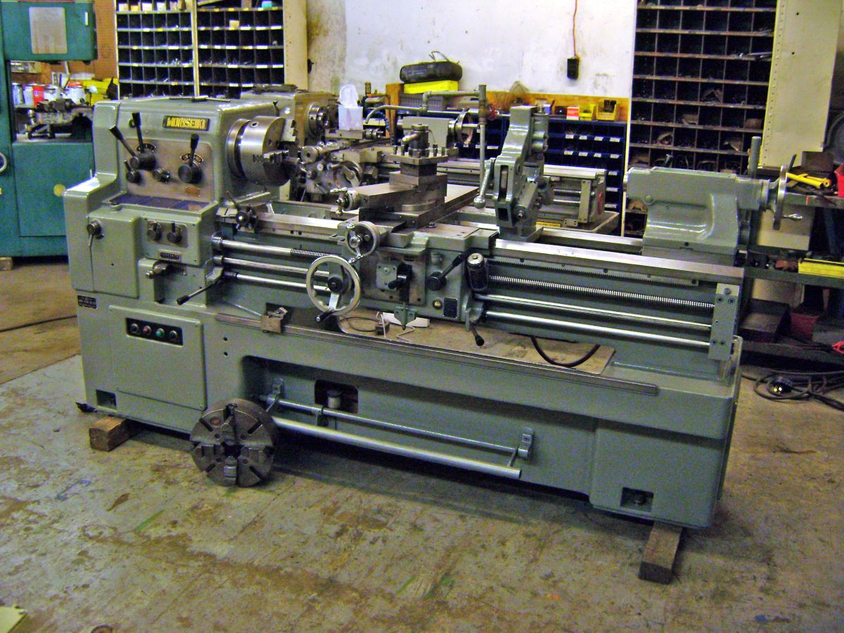 17 Quot X 50 Quot Gap Bed Engine Lathe Mori Seiki Model Ms 1250g