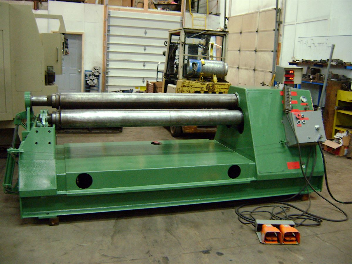1 4 Quot X 6 Double Initial Pinch Hydraulic Plate Bending