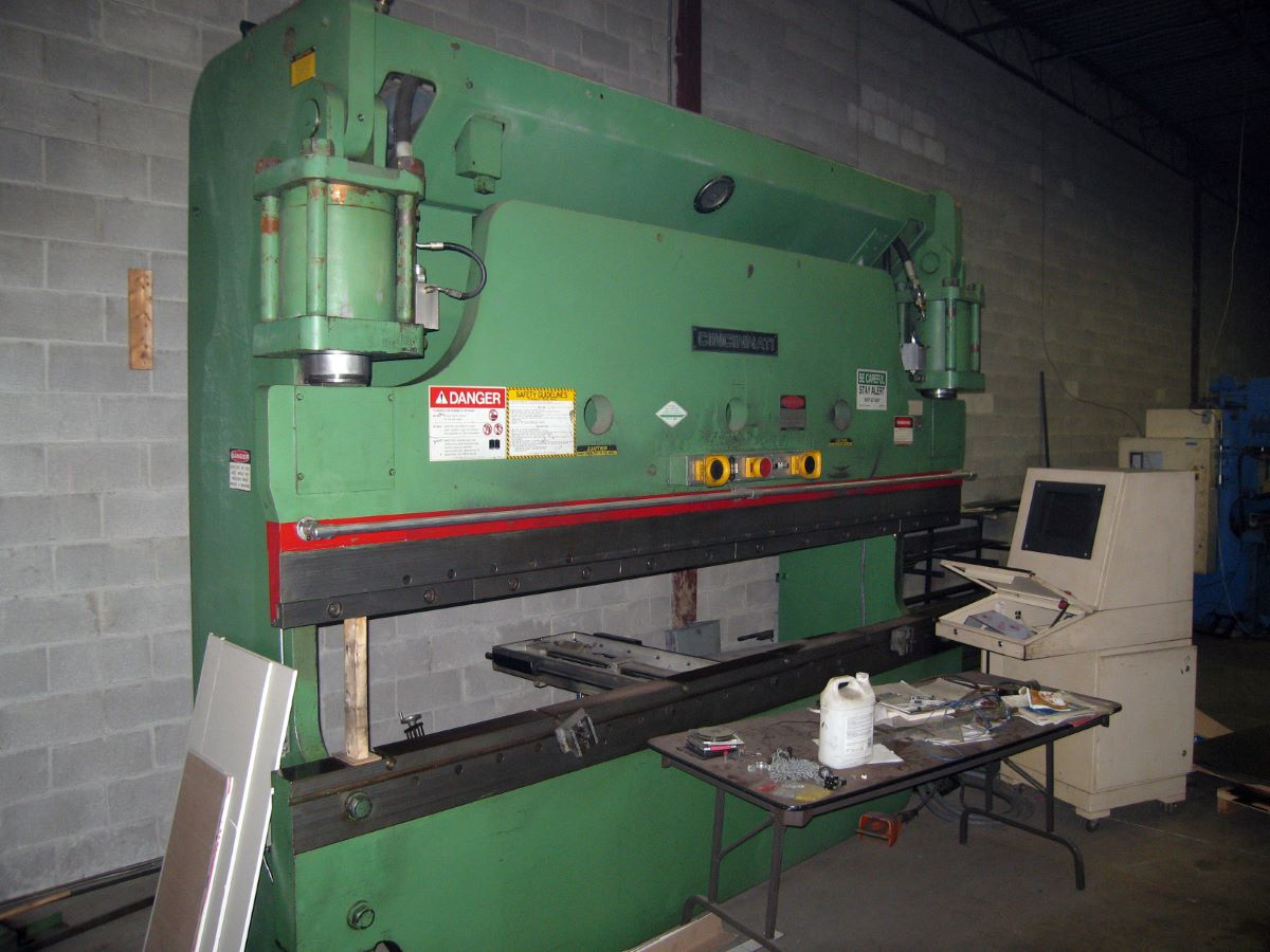 175 Ton Hydraulic Cnc Press Brake Cincinnati Model