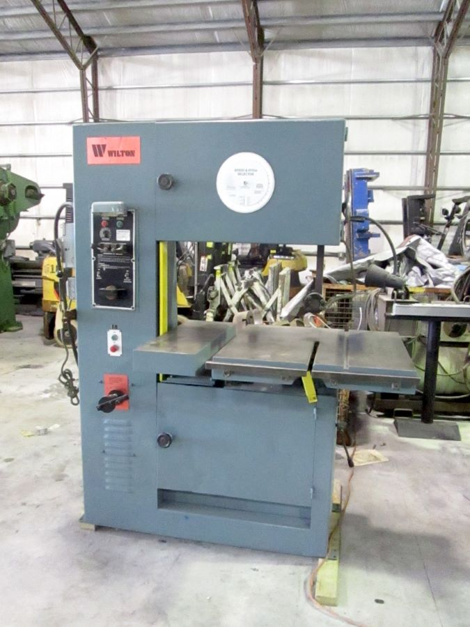 28 Quot Vertical Band Saw Wilton Model 8027