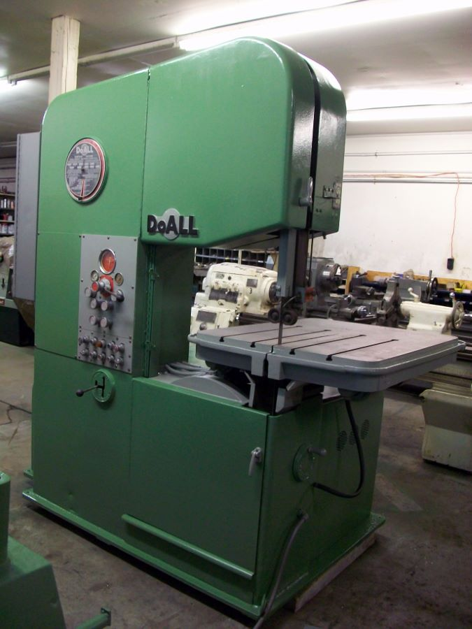 26 Quot Vertical Band Saw Doall Model 26 3