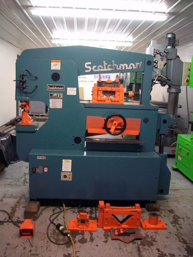 120 Ton Hydraulic Ironworker Scotchman Model 12012 24m