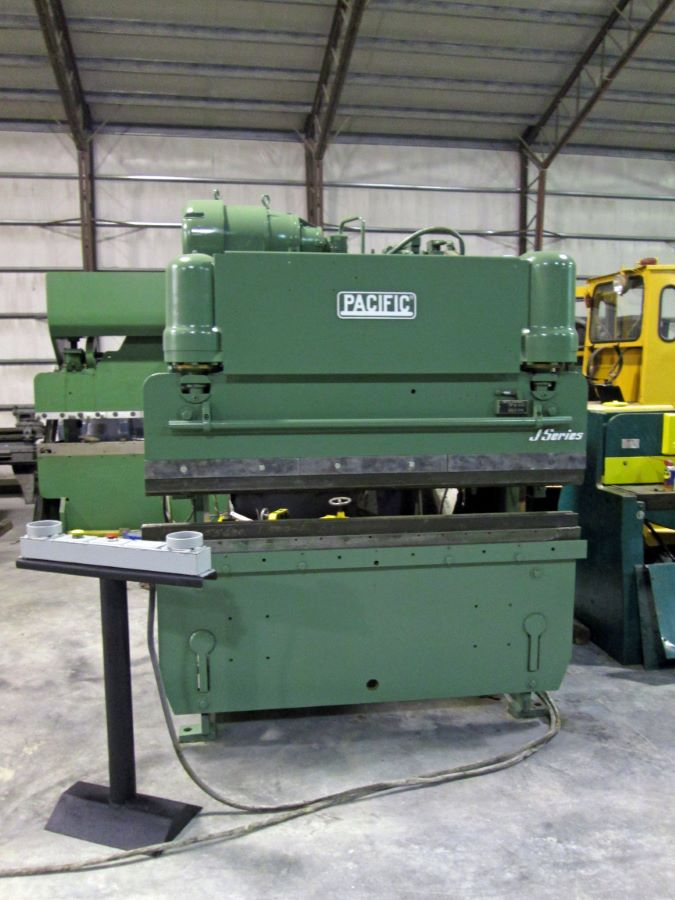 55 Ton Hydraulic Press Brake Pacific Model J55 6