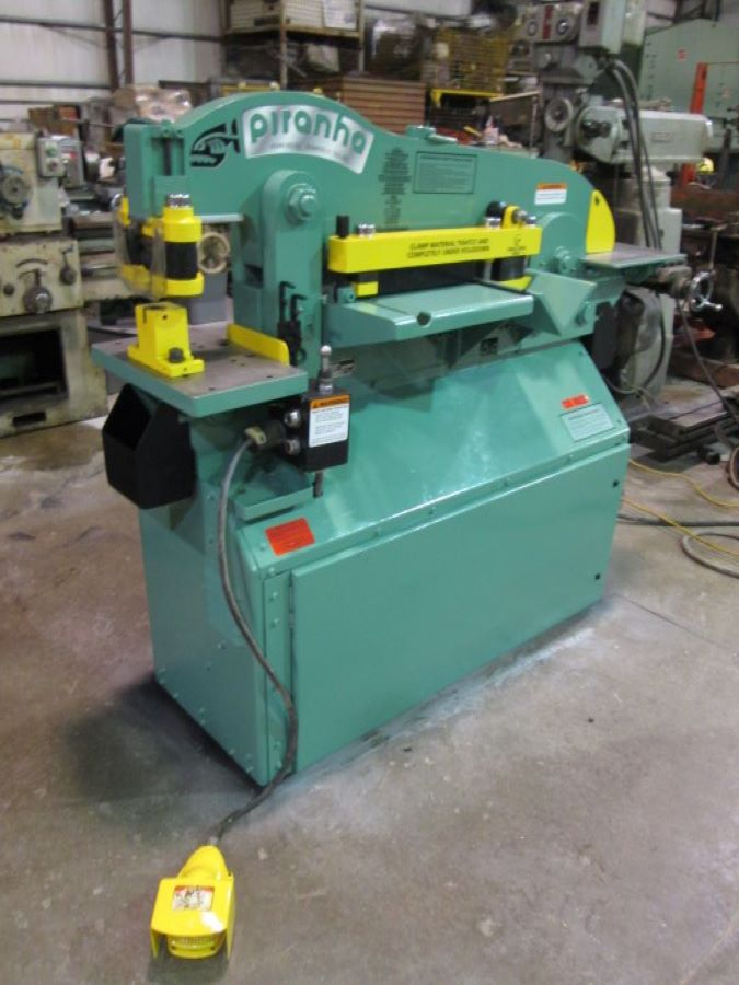 50 Ton Hydraulic Ironworker Piranha Model P50
