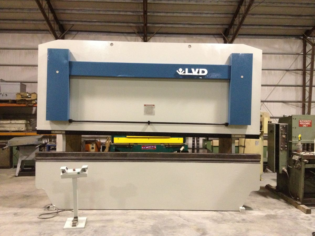200 Ton Hydraulic Press Brake Lvd Model Ppbl 200 40