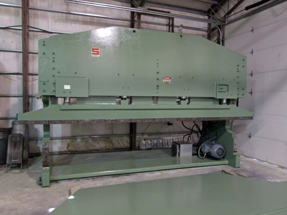 400 Ton Hydraulic Press Brake Summit Model 12 X 400t