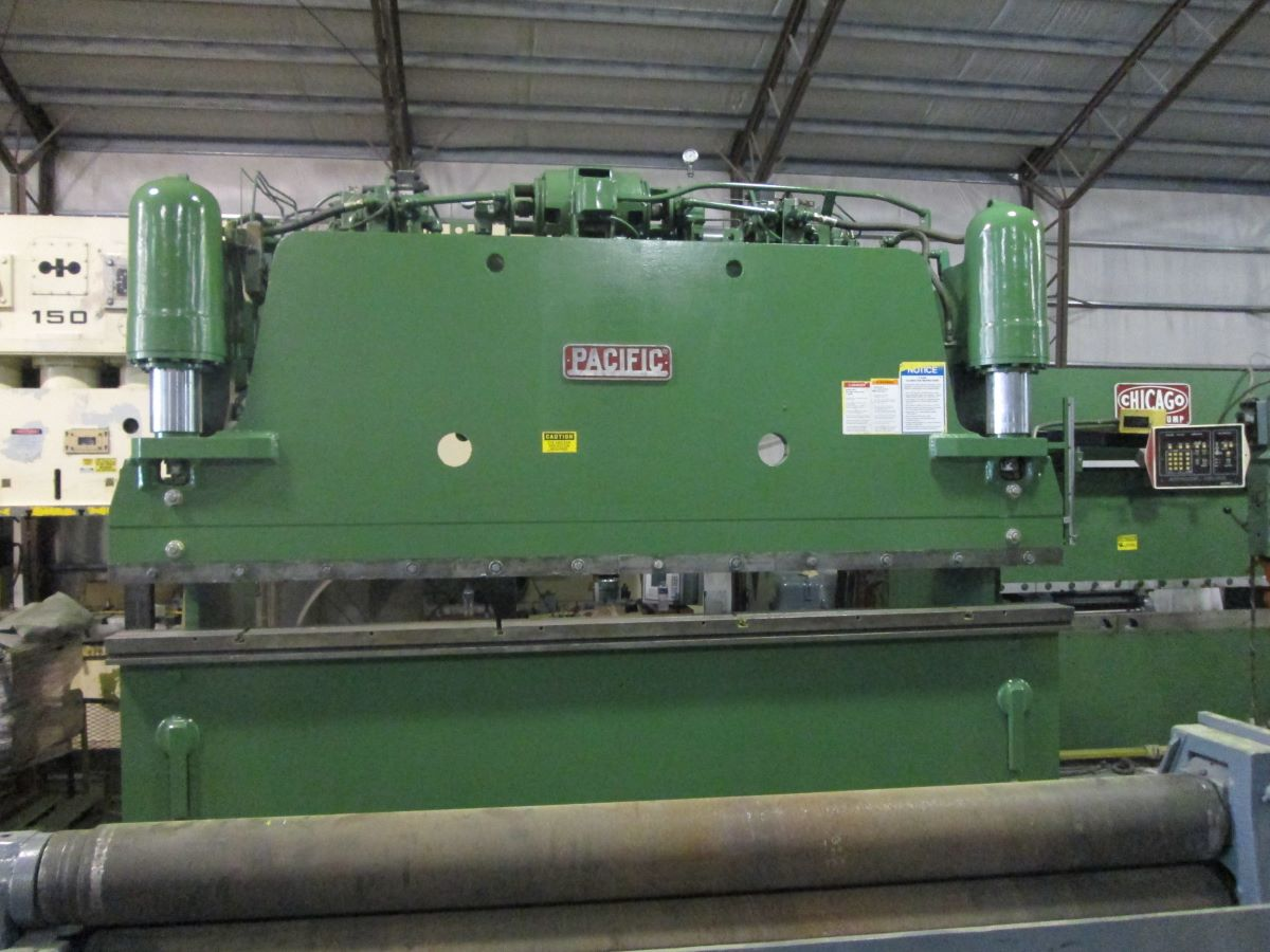 150 Ton Hydraulic Press Brake Pacific Model K150 12