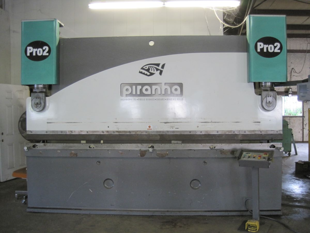 200 Ton X 12 Hydraulic Cnc Press Brake Piranha Model