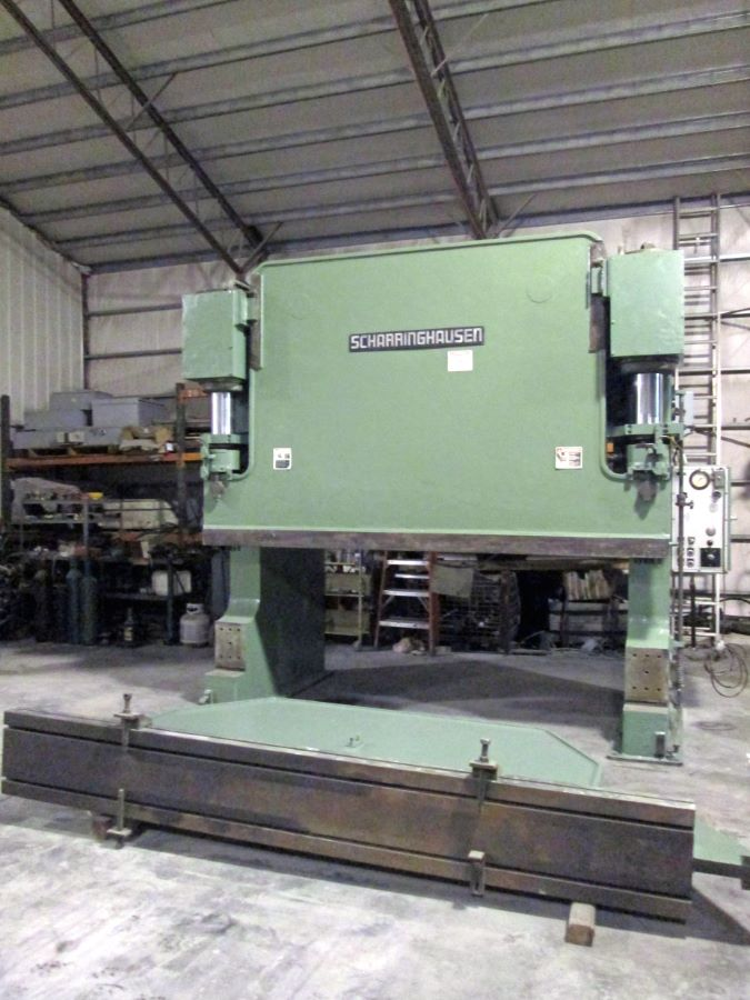 200 ton Hydraulic Press Brake, Scharringhausen, Model HAP