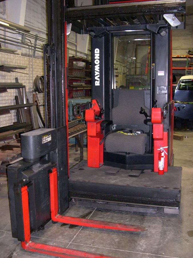 3000 Lb Narrow Aisle Swing Reach Electric Forklift