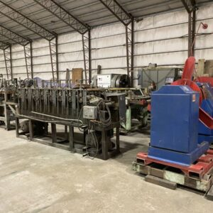 8 Stand Hat & Z Channel Rollforming Line | 13596-1