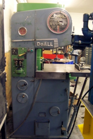 16 Quot Vertical Band Saw Doall Model 16 2