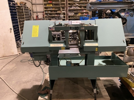 "10"" x 16"" Wellsaw horizontal bandsaw Model L-10"