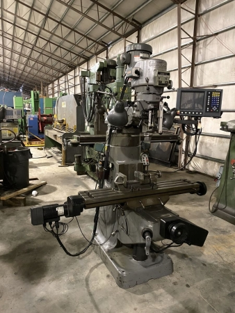 "9"" x 48"" Bridgeport EZ-Trak CNC Milling Machine 