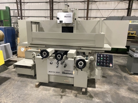 """16"""" x 32"""" Okamoto 3-Axis Automatic Surface Grinder ACC-16.32ST   13634-1"""