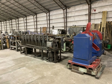 8 Stand Hat & Z Channel Rollforming Line   13596-1