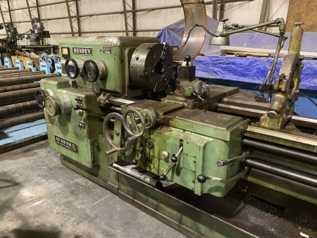 """Used Metal Lathe For Sale: 20"""" x 54"""" Hendey 